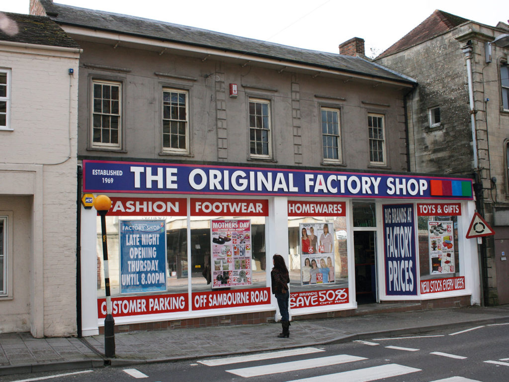 The Factory Shop, Warminster